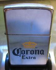 ZIPPO LIGHTER Vintage RARE 1996 Corona Extra Beer   NICE Advertisement
