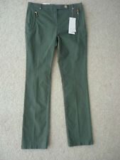 Marks and Spencer Cotton Blend Tailored Trousers for Women