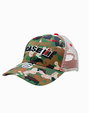 Case IH Tractor Camo Mesh Back Youth Cap
