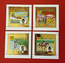{TOGO/1972 MUNICH< C194A-C & 194D<MLH<VF< No Thins<CV $430.00 NH>/epictronic/JC}
