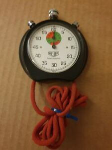 Vintage Heuer Stopwatch Trackmaster