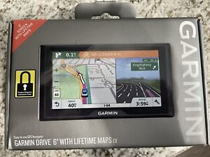 "Garmin Drive 6LM EX Features a 6"" Screen, Lifetime Maps / No Activation Code"