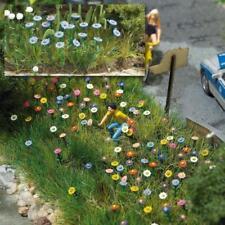 BNIB OO / HO BUSCH 1229 120 SUMMER FLOWERS SET - FLOWERS / PLANTS KIT