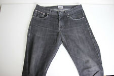 Men's Naked and Famous Jeans - Slim Guy - Black Selvedge Size 29Missing Button