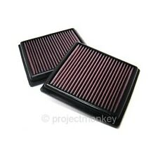 K&N 33-2399 High Flow Drop-In Air Filter Fits: Infiniti G35 G37 Nissan 350Z 370Z