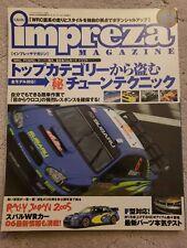 JDM Hyper Rev Impreza Magazine #29 for Subaru GDA GDB WRX STi