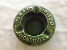 Monrovia Club Beer Ceramic Ashtray, Made Western Germany