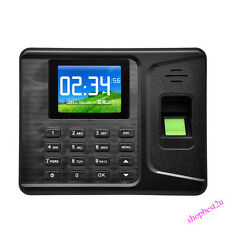 "2.8"" Biometric Fingerprint Attendance Time Clock Employee Check Realand A-E260"