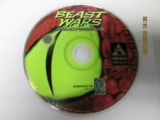 Beast Wars: Transformers Jewel Case (PC, 1998) Tested FREE SHIPPING