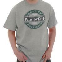Beer Brewed In North Funny TV Show Gift Idea Short Sleeve T-Shirt Tees Tshirts