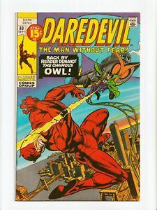 Daredevil #80 Bronze Age Marvel Comics 1971