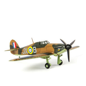 Fighter Aircraft Model 1/72 Diecast Hawker Hurricane MK.I UK Airplane Toy Gift