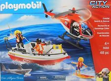 Playmobil 5668 Küstenwache Spezialeinsatz City Action Rescue Coast Guard Neu OVP