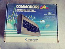 Commodore 64 Computer with Box & Rare Numeric Pad Keyboard