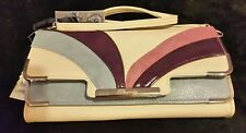 Authentic Personality clutch bag - cream with shoulder strap☆100% Fab