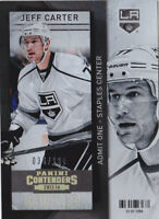 13-14 Panini Contenders Jeff Carter /100 GOLD Parallel LA Kings 2013