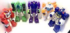 Transformers Epic Rescue Bot Playskool 12 Inch Lot Blades Chase Blurr Boulder