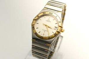 Omega Constellation 33mm Two Tone Gold / Stainless Steel 396.1201 !