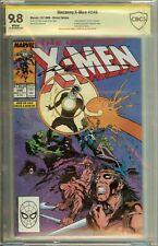 Uncanny X-Men #249 Signed Marc Silvestri CBCS (not CGC) 9.8