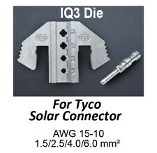 TGR Crimping Tool Die - IQ3 Die for Tyco Solar Connectors AWG 15-10