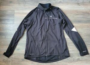 Pearl Izumi Elite Men's Windbreaker Convertible Cycling Jacket Vest Black Sz XL