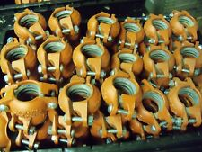 """1-1/2"""" Victaulic FireLock EZ Coupling Pipe Clamps 1.5"""" 1-1/2/48.3-009 Lot of 102"""