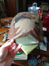 U.S Military Army Stemaco 28+Xs Pasgt Helmet Made With Kevlar & Camo Cover