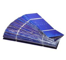 Solar Panels 100Pcs Charger Cells Mini Battery Polycrystalline Mono System Tools