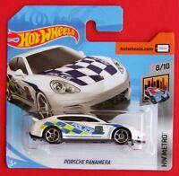 Hot Wheels 2018   PORSCHE PANAMERA  POLICE  303/365 NEU&OVP
