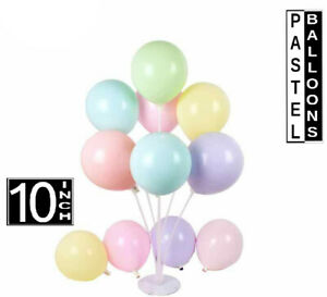 """Lilac Matt Pastel Latex Balloons new 10"""" inch Oval/Round Air/Helium (pack of 50)"""