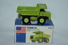 Tomica Tomy 1:119 F22 TEREX 33=07 DUMP TRUCK Green