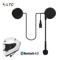 LTC L1M Motorrad Helm Kopfhörer Superflache Stereo Lautsprecher Bluetooth 4.0