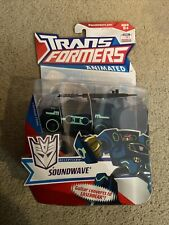 TRANSFORMERS ANIMATED Deluxe Deception Soundwave