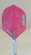 Winmau Rhino Pink Feathers Standard Dart Flight