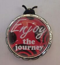 F Enjoy the journey Ladybug Message Figurine miniature ganz