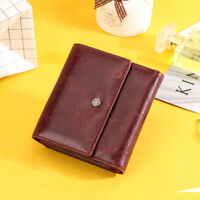 Women's Genuine Leather Wallet RFID Blocking Credit Card Holder Coin Purse Lady