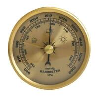 Barometer Pressure Gauge Weather Station Wall Mount Thermometer Hygrometer Home