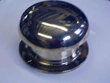 """Pair of Chrome Mushroom Vent 6"""" x 4"""" Canal Narrowboat Boat Barge Yatch"""