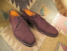 Dacks Brown Suede Derby size 8- 8.5 D made in Canada