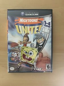 GameCube Replacement Case / Manual - Case Only NO GAME - Nicktoons Unite!