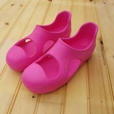 Crocs Hot Pink Slip On Water Beach Comfort Shoe Men's 7 Women's 9