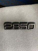 Original Holden Torana LH/LX 2850 Badge, Genuine, P/N 9928682 GM 78. Free Post!