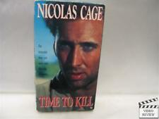 Time to Kill (VHS) Nicolas Cage  Robert Liensol