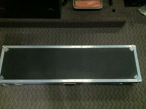 """Aziz Pro Turntable Coffin case for 19"""" mixers NEW. OUT OF BOX"""