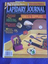 LAPIDARY JOURNAL - PLATINUM ESSENTIALS - July 2000 v 54 # 4
