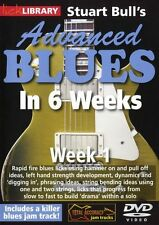 LICK LIBRARY Stuart Bull's ADVANCED BLUES in 6 WEEKS Learn to Play Guitar DVD 1