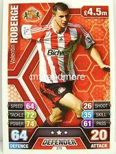 Match Attax 2013/14 Premier League - #275 Valentin Roberge - Sunderland