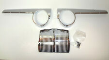 Ford 3 Piece Chrome Dash Set 42,46,47,48 1942,1946,1947,1948 Made in USA