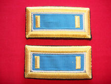 Pair Of US Army LIEUTENANT Rank Shoulder Badges Epaulets For Dress Jackets