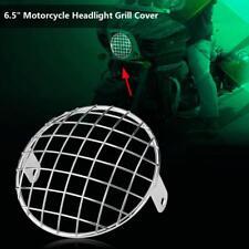 6.5 pollici / 17cm Griglia Faro fanale anteriore Headlight Per cafe racer moto